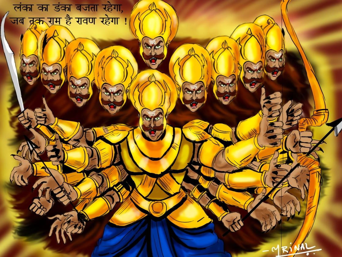 Ravan 3d Wallpaper Ravana Chitera
