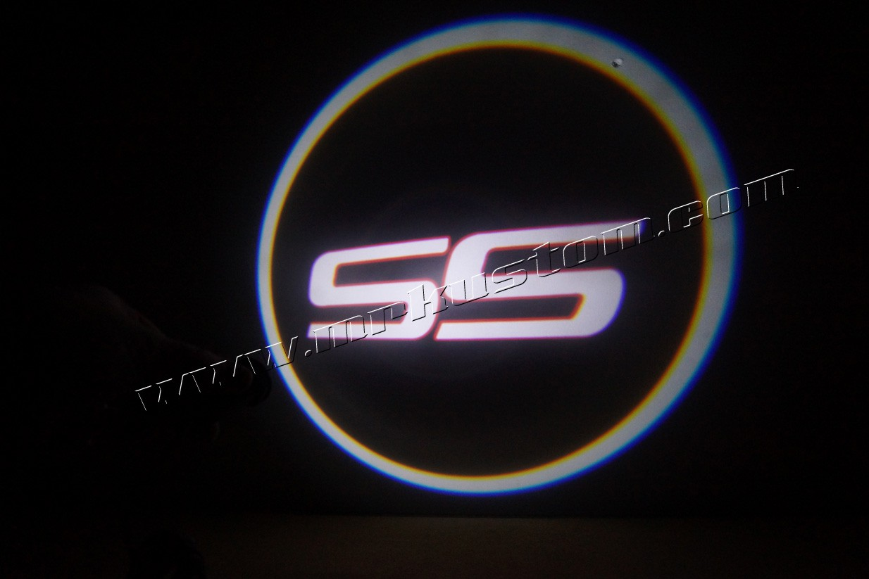 Light Projector Chevy Ss Led Door Projector Courtesy Puddle Logo Lights