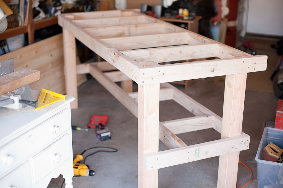 Storage Bench A Workbench For Every Craft - Mr. Lentz Leather Goods