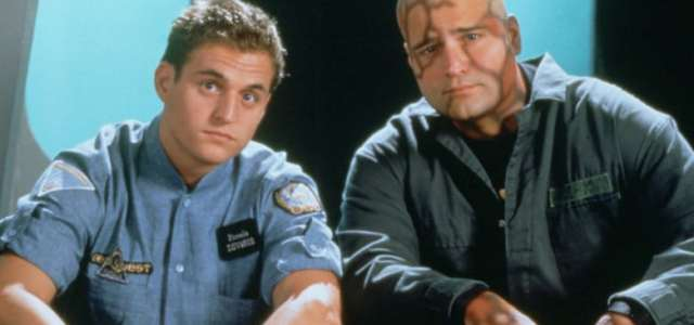 """<!-- AddThis Sharing Buttons above --><div class='at-above-post-homepage addthis_default_style addthis_toolbox at-wordpress-hide' data-title='1281 seaQuest DSV fan? Meet stars Michael and Peter DeLuise! INTERVIEW' data-url='http://mrmedia.com/2016/09/seaquest-dsv-fan-meet-stars-michael-peter-deluise-interview/'></div>Today's Guests:Michael DeLuise, Peter DeLuise, co-stars, """"seaQuest DSV"""" (Originally published in Sci-Fi Universe, 1994) The first thing you notice about Peter DeLuise is what's missing: his hair. His head is...<!-- AddThis Sharing Buttons below --><div class='at-below-post-homepage addthis_default_style addthis_toolbox at-wordpress-hide' data-title='1281 seaQuest DSV fan? Meet stars Michael and Peter DeLuise! INTERVIEW' data-url='http://mrmedia.com/2016/09/seaquest-dsv-fan-meet-stars-michael-peter-deluise-interview/'></div>"""