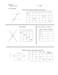 Geometry  First Semester Review Worksheet   mrmillermath