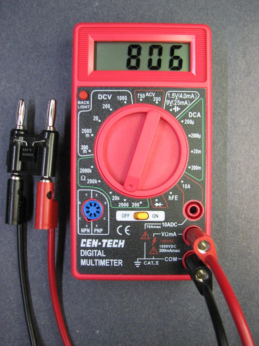 cen tech volt gauge wiring diagram
