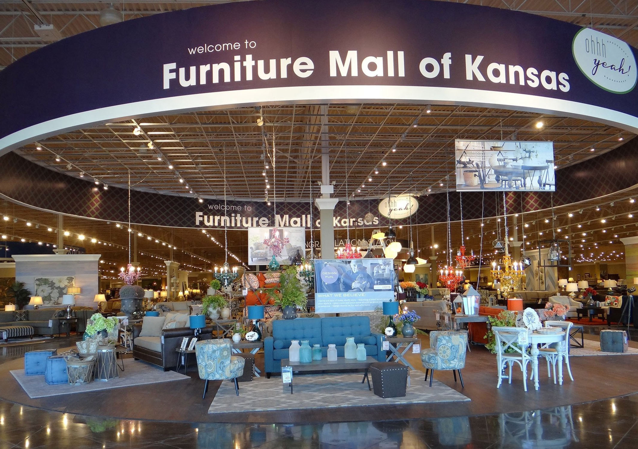 The Furniture Mall Furniture Mall Of Kansas The Dreams You Dare To Dream