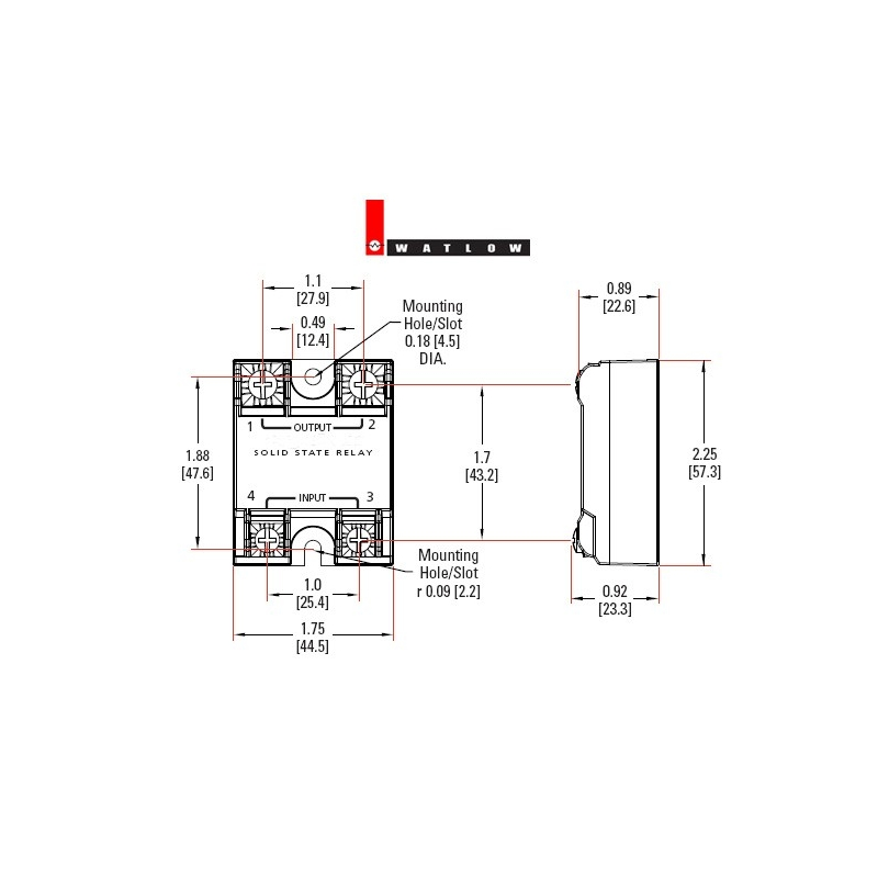 electric heater relay w spst switching