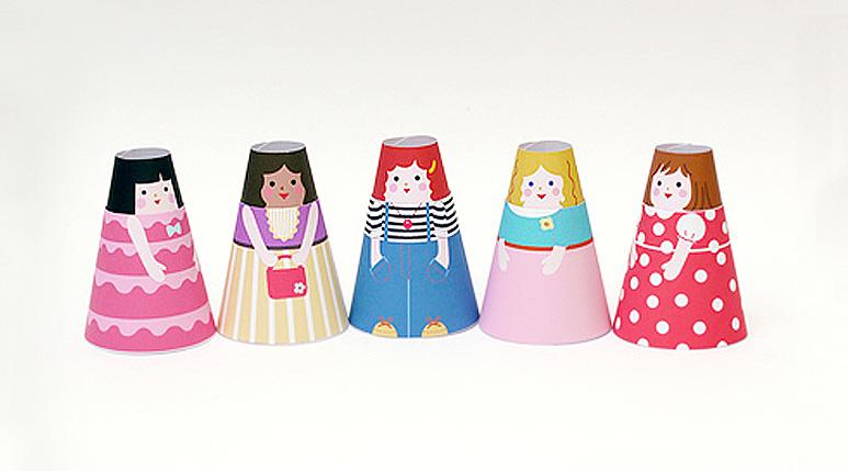 Printable Paper Dolls  Puppets - Mr Printables