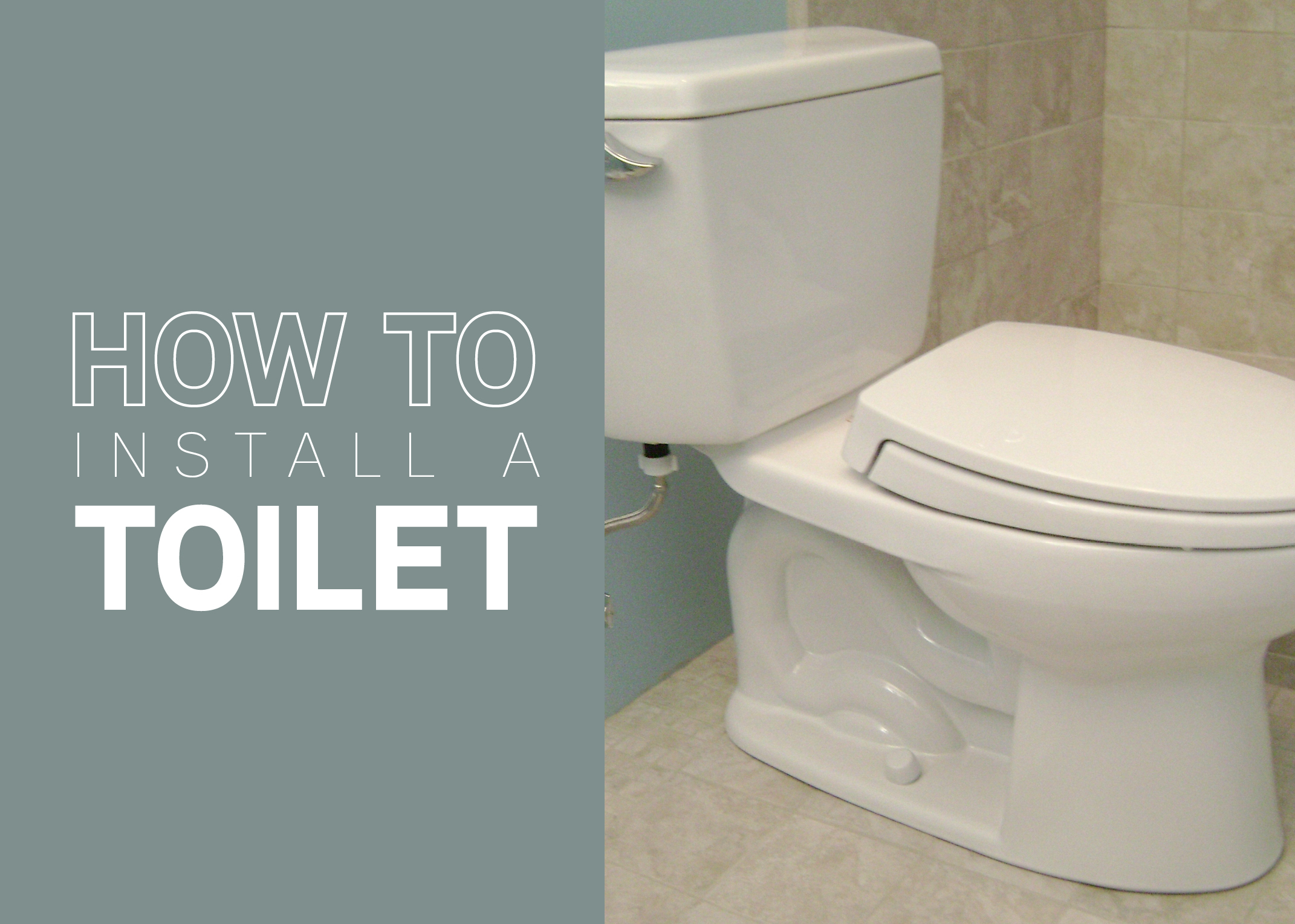Install A Toilet How To Install A Toilet Mr Rooter