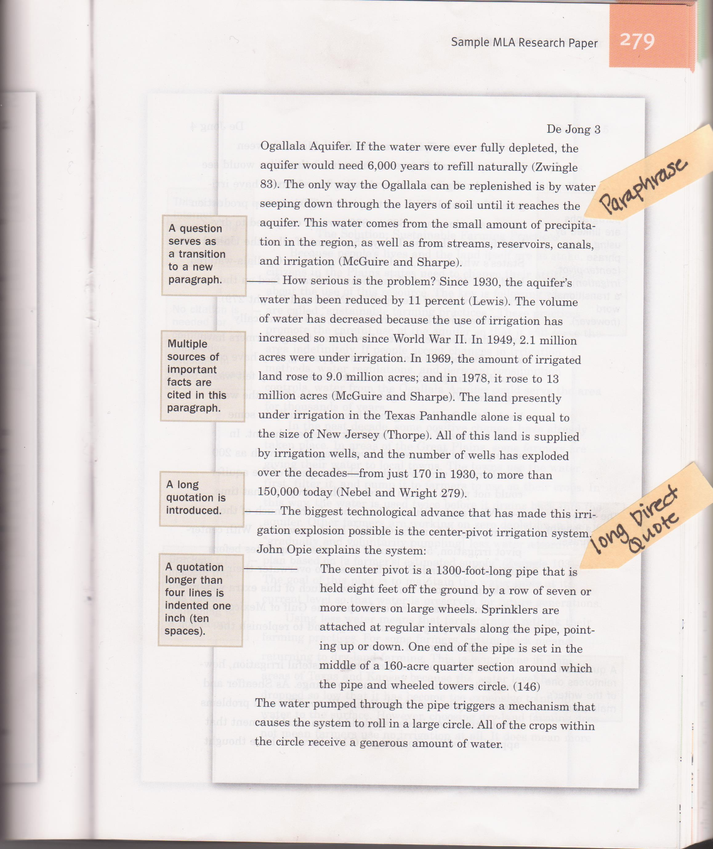 Apa citing  paraphrasing and quoting presentation Last Mla Research Paper Daly Writing Service Pinterest