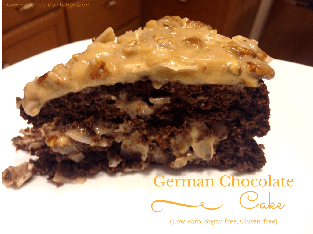 Low Carb Protein Kuchen German Chocolate Cake Low Carb Sugar Free