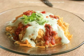 Green Chile' Chicken Casserole