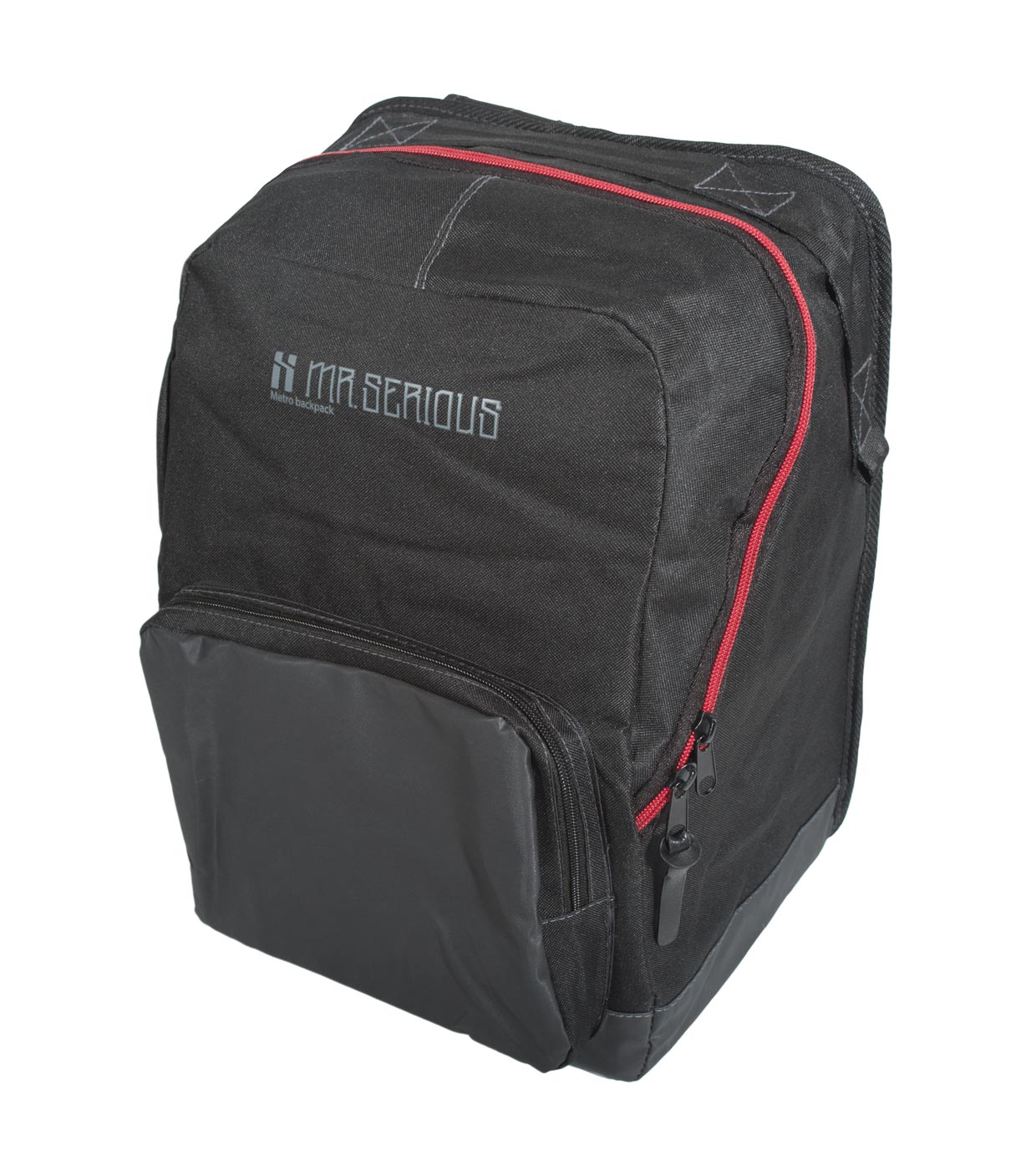 Backpack Black Mr Serious Metro Backpack Black Graffiti Bag Ready For Action