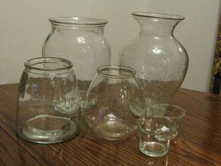 Milky Mercury Glass 17