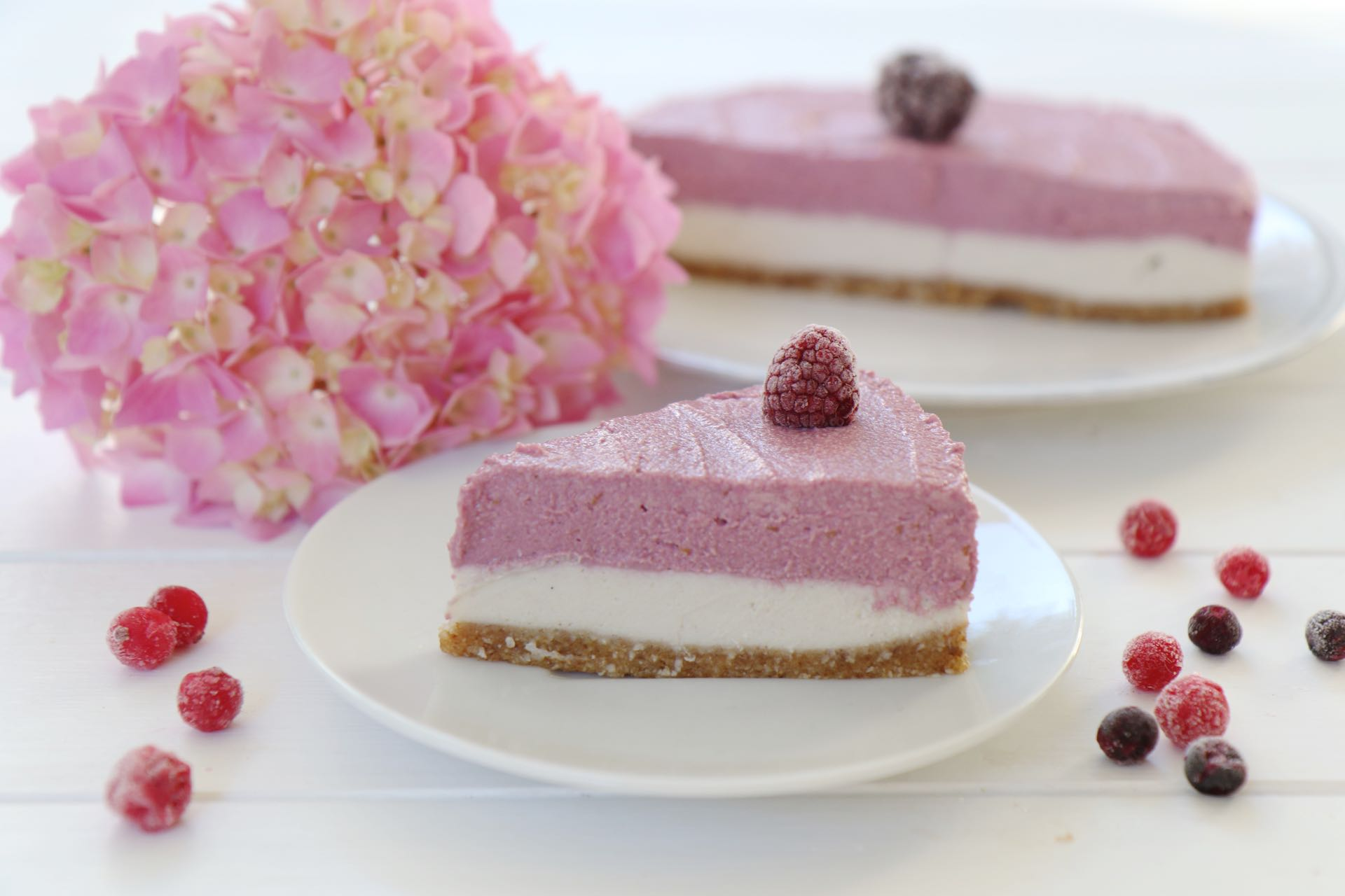 Kokoscreme Kuchen Raw Cheesecake