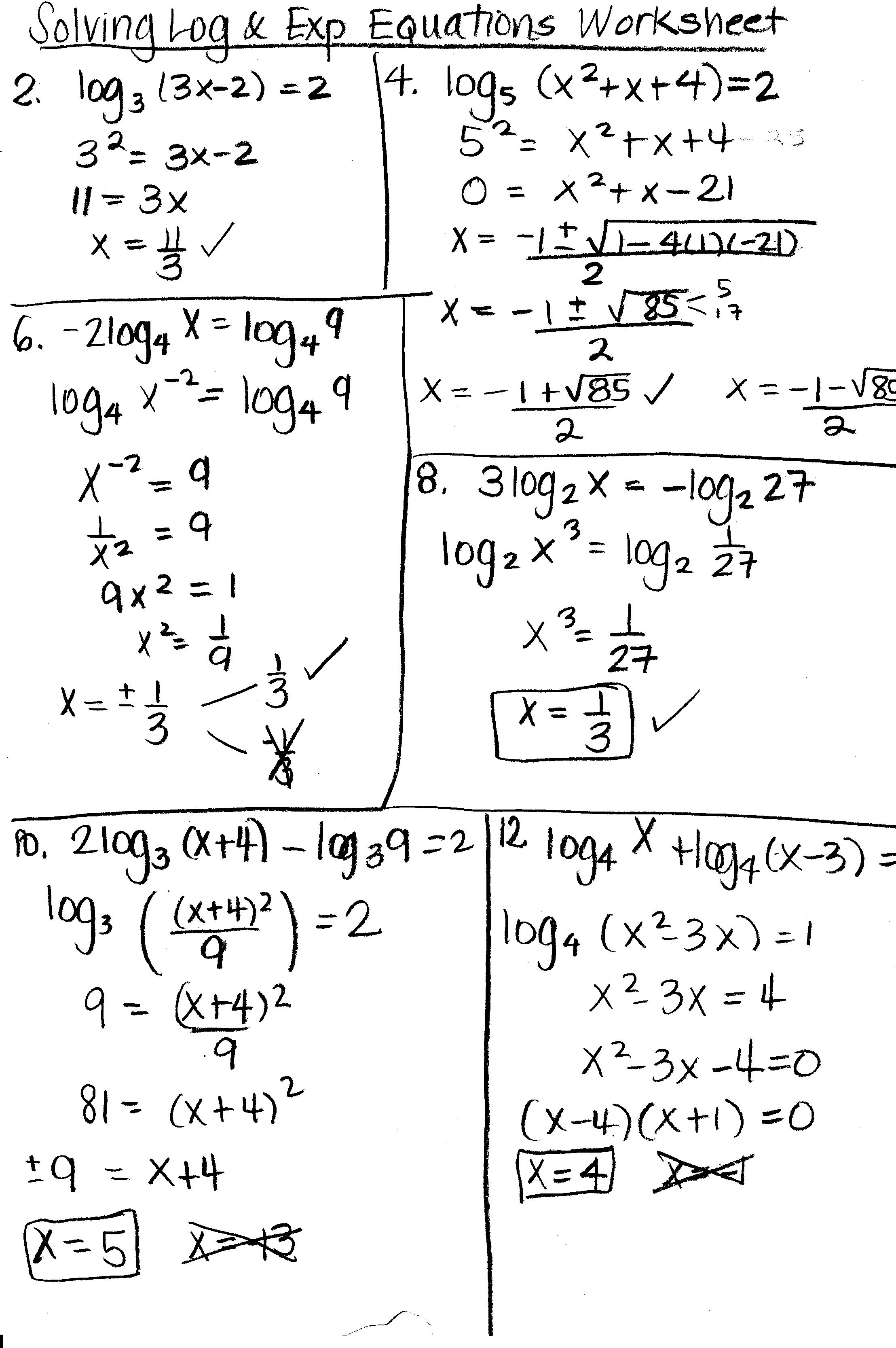 Trig Equations Worksheet Free Worksheets Library | Download and ...
