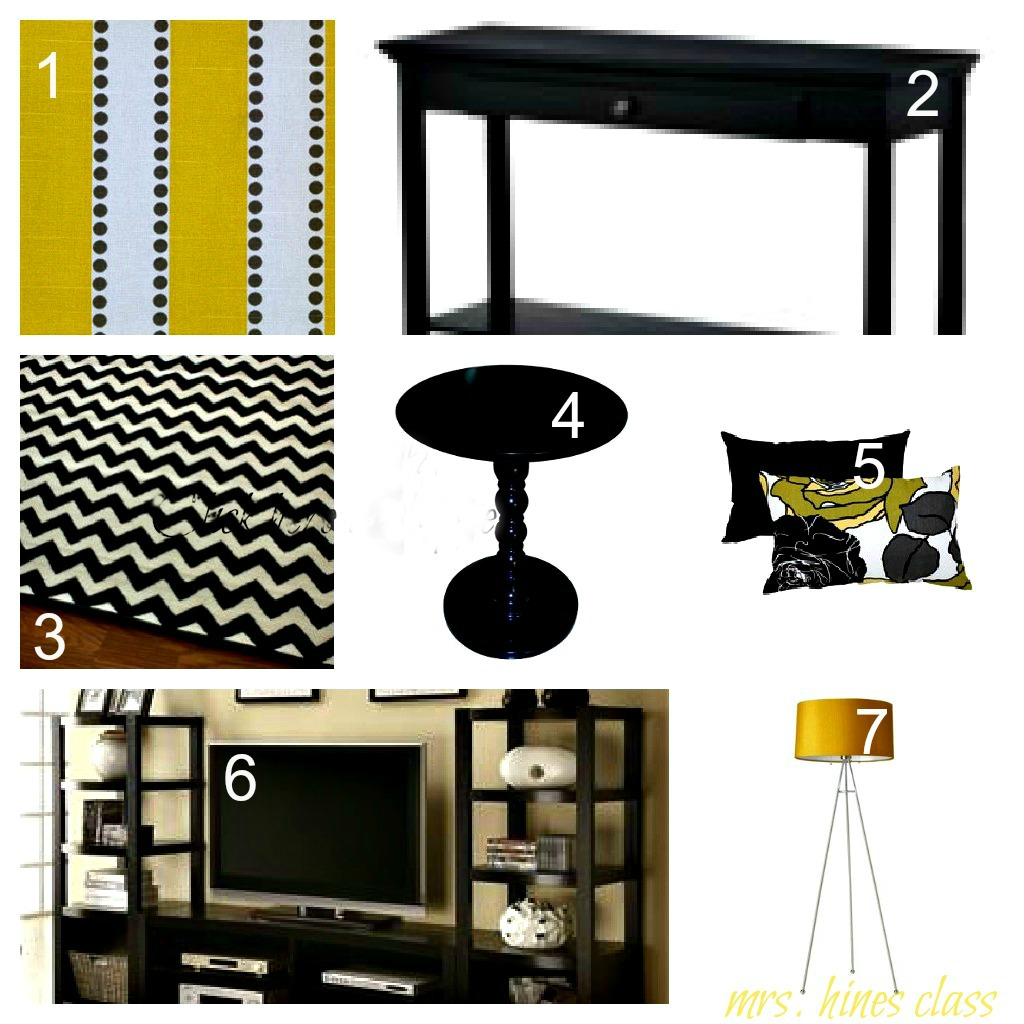 Yellow Accents Home Decor Gray And Yellow Mood Board Mrs Hines 39 Class