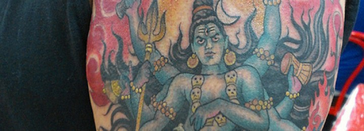 Desi Ink: Shiva the Destroyer