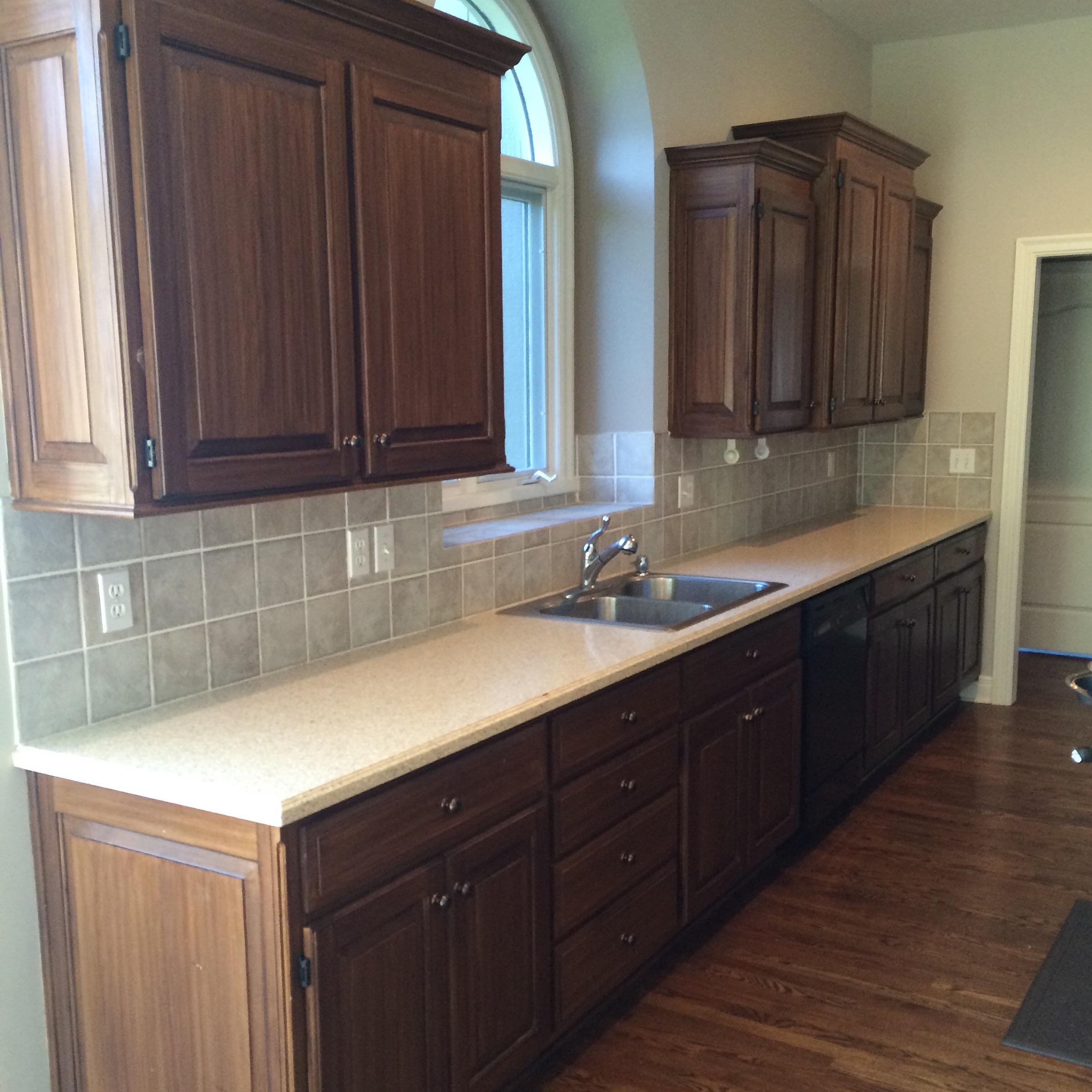 naptime project painting tile backsplash kansas mommy painting kitchen tile backsplash kitchen backsplash