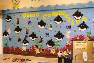 Preschool Ocean Me Bulletin Board Ideas