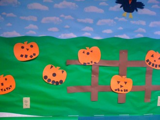 October Preschool Bulletin Board Ideas