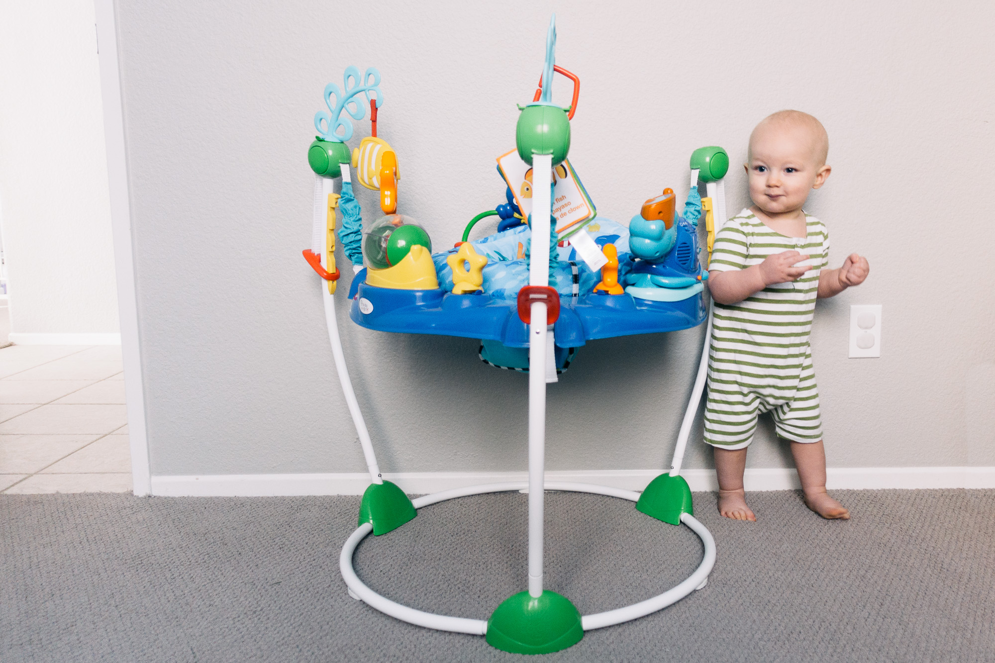 Baby Einstein 3 In 1 Jumper And Activity Mat Colors Of The Ocean Give The Perfect Gift For 12 Months Mrs Seacannon