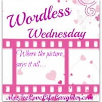 Wordless Wednesday: He Sees Me!