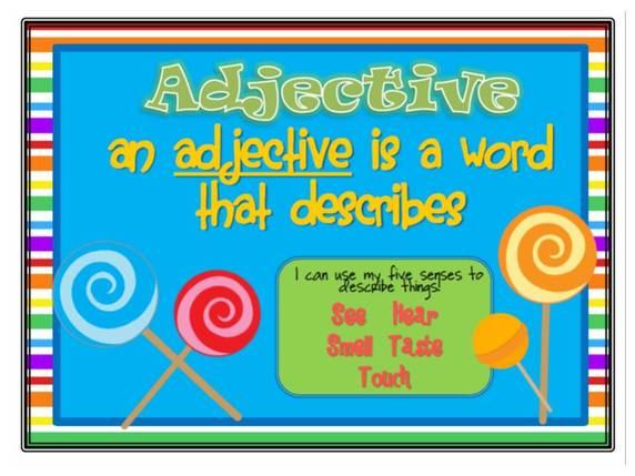 Adjectives - Mrs Warner\u0027s Learning Community