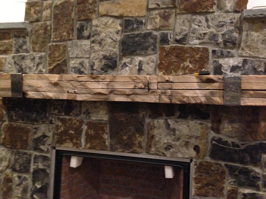 Reclaimed Wood Fireplace Mantels Manomin Resawn Timbers