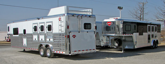 Hart Trailers, Aluminum Horse Trailers, review of the factory