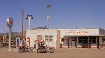 Sacred Mountain Gas Station from Easy Rider
