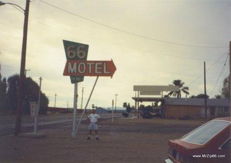 66 Motel at Dawn