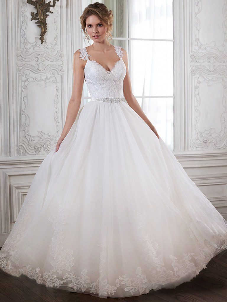 crystal wedding dresses