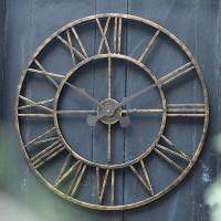 Buy Extra Large 70cm Vintage Clock  The Worm that Turned ...