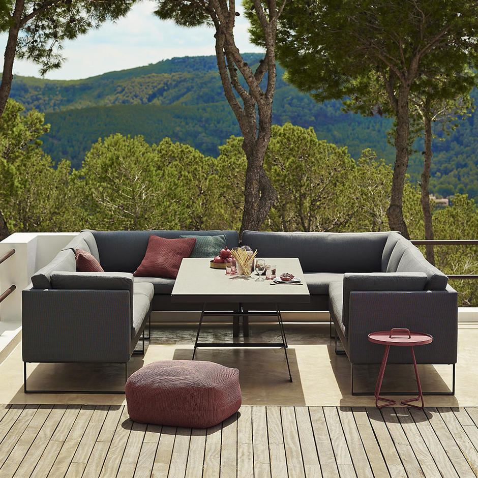 Dining Lounge Buy Flex Outdoor Dining Lounge By Cane Line The Worm That Turned