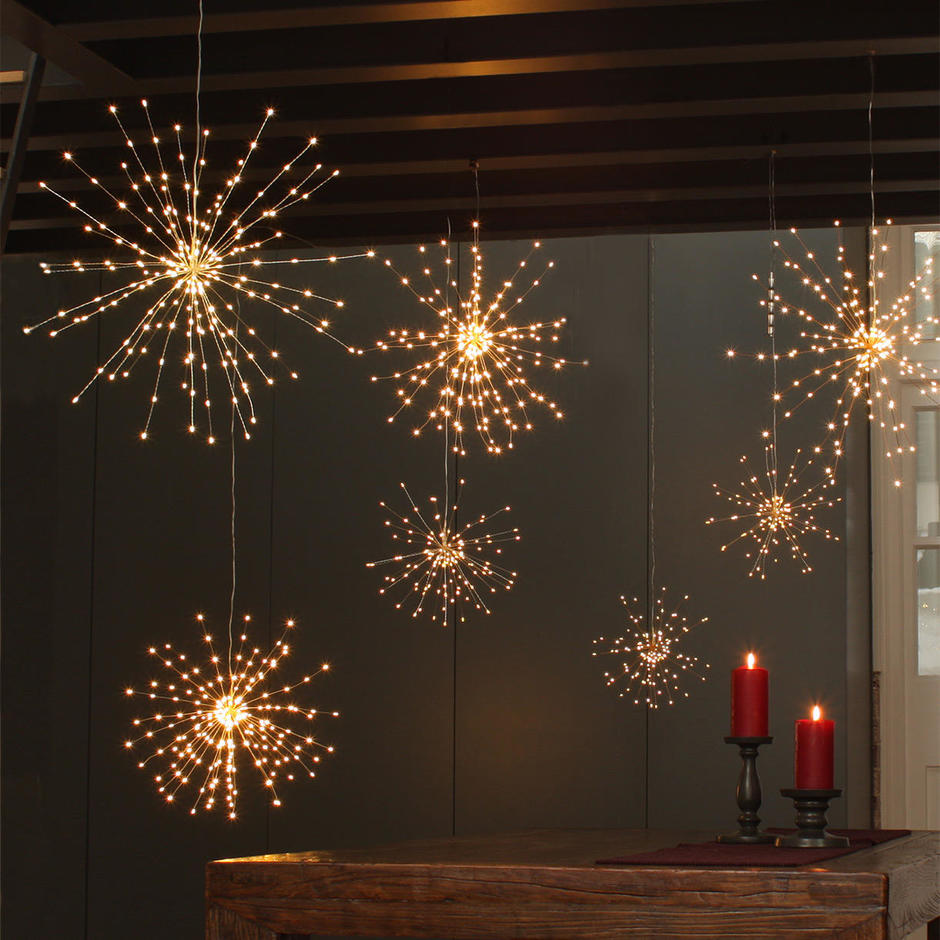 Buy Starburst LED Allium Outdoor Lights  The Worm that