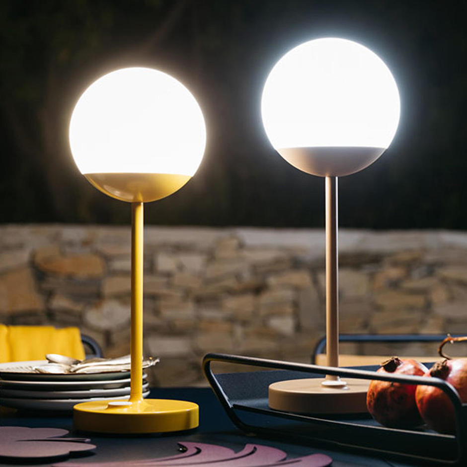 Lampe Led Table Exterieur Buy Mooon Table Lamps By Fermob Outdoor Lighting The Worm That