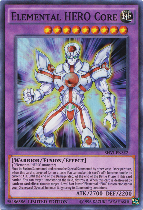 Battle Hero Elemental Hero Core - Yugipedia - Yu-gi-oh! Wiki