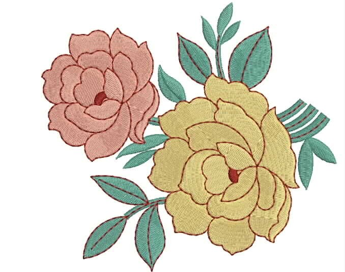 Embroidery patterns rose www imgarcade com online