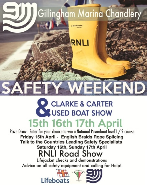 Gillingham Marina safety weekend