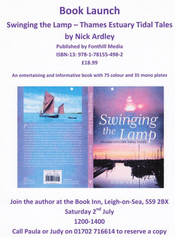 Nick Ardley book launch