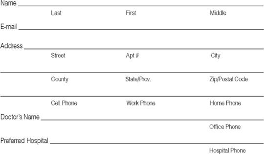contact information sheets - Minimfagency - contact info sheet template
