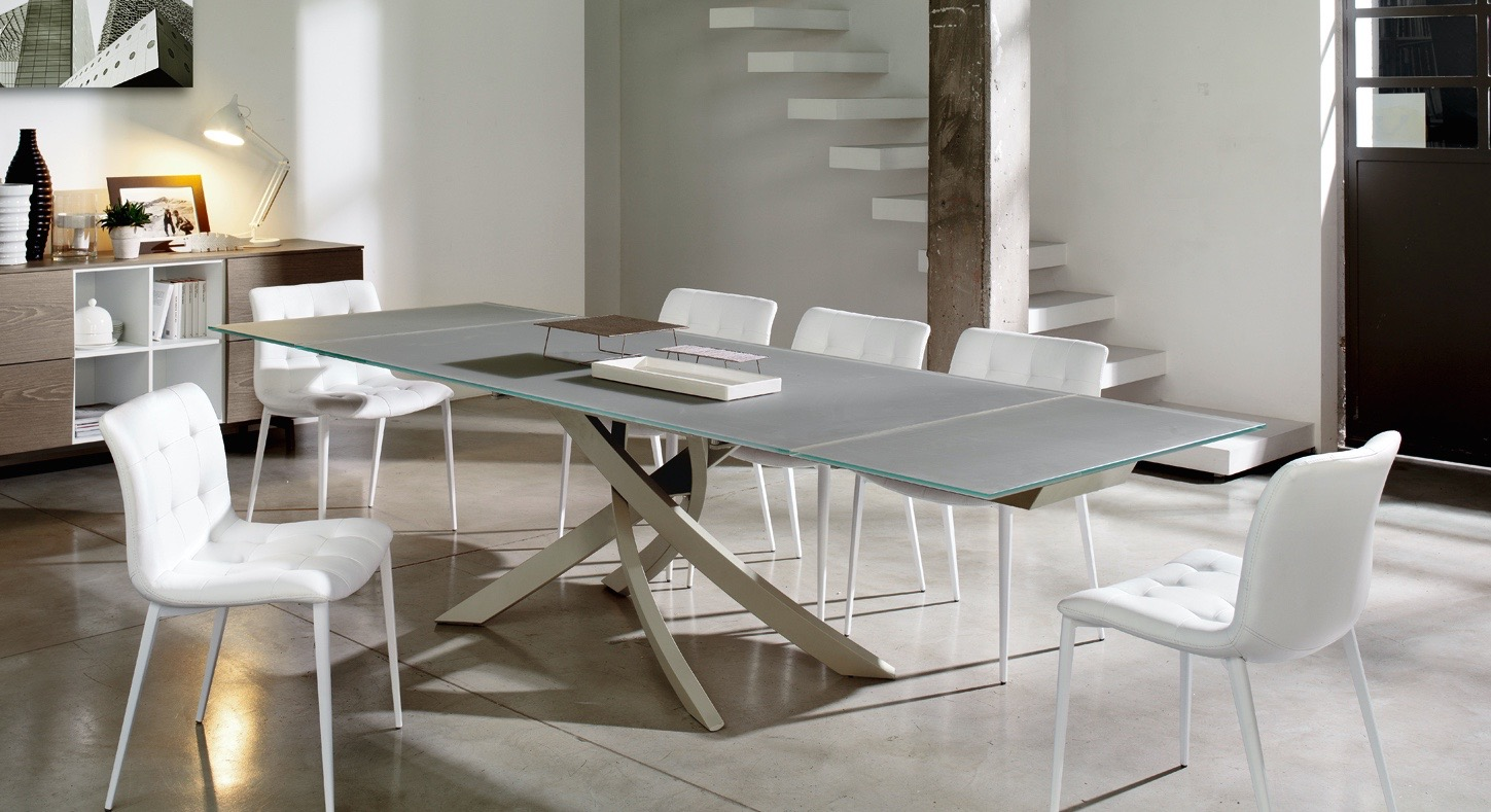 Modern Extending Dining Table F O R M Mscape Modern Interiors San Francisco