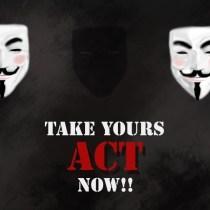masques anonymous concours de dessin revolution internet