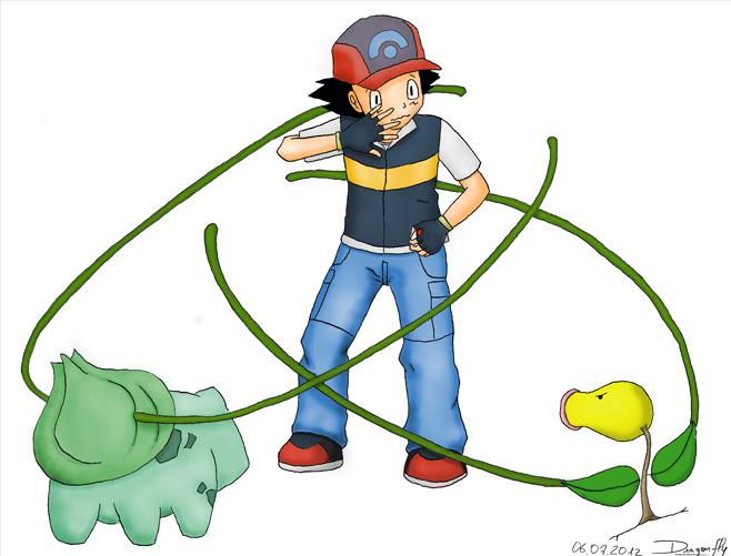 illustration concours dessin manga pokemon revanche nature