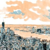 perspective ville dessin