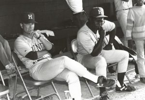 Coaches Rick Clarke and George McQuitter.