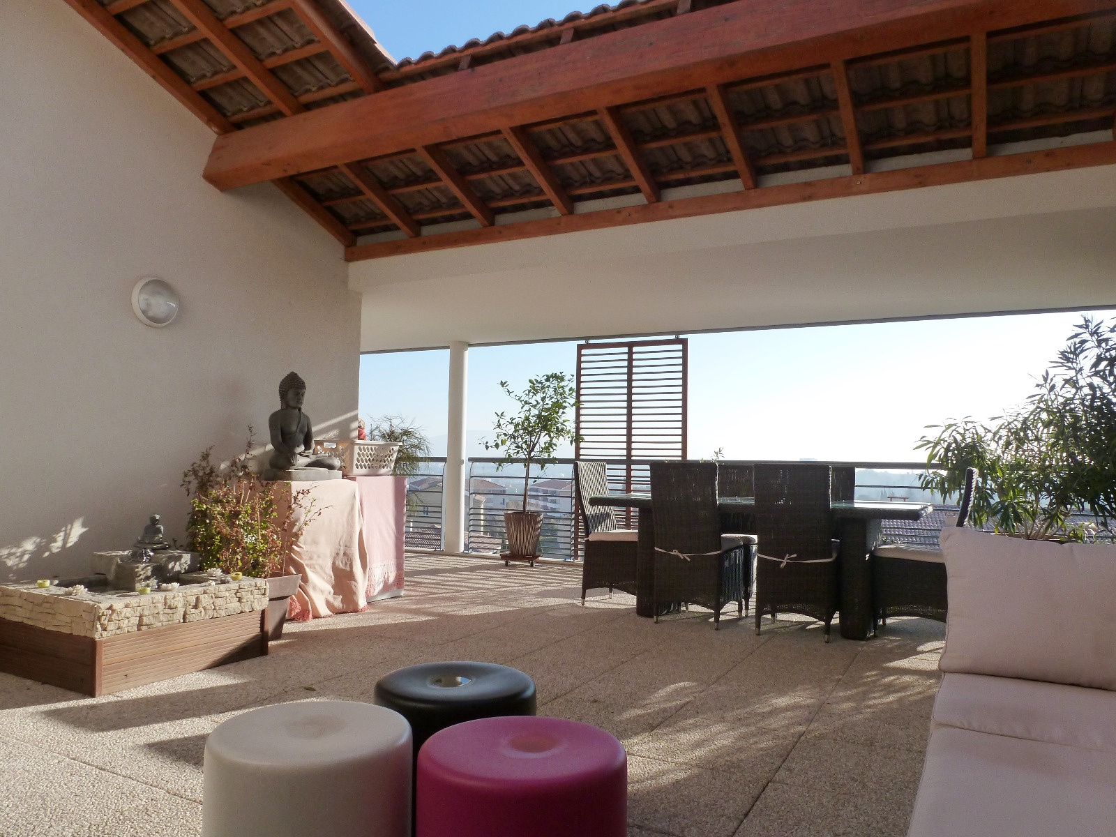 Location Appartement Toit Terrasse Marseille T4 Terrasse 60m² Garages Parking Toit Terrasse Chateau Gombert 13013 Marseille