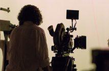 Cameraman Against a Greenscreen