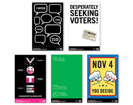 Get Out The Vote! - american institute of graphic arts