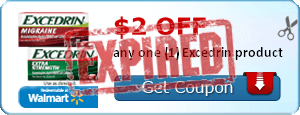 $2.00 off any one (1) Excedrin product