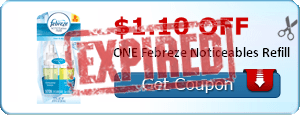 $1.10 off ONE Febreze Noticeables Refill