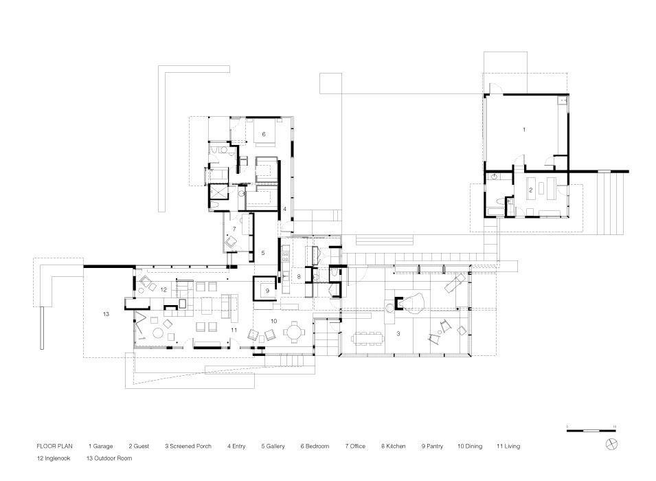 Fall Wood Wallpaper Mountain House 171 Mack Scogin Merrill Elam Architects